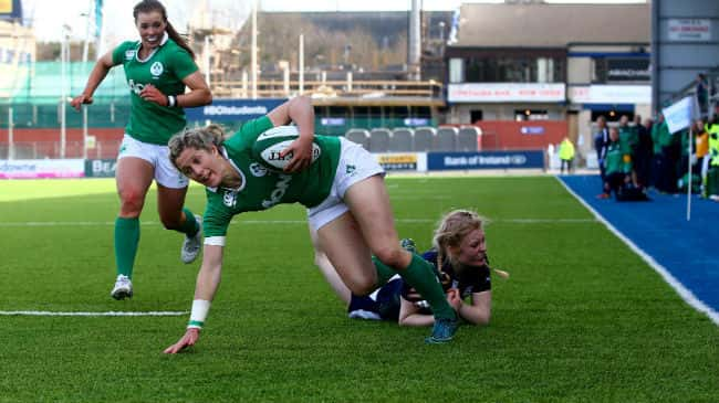 Irish Womens Rugby in Donnybrook